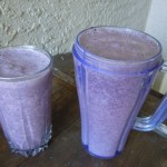 Vanilla Berry Protein Shake Nutmeg Notebook
