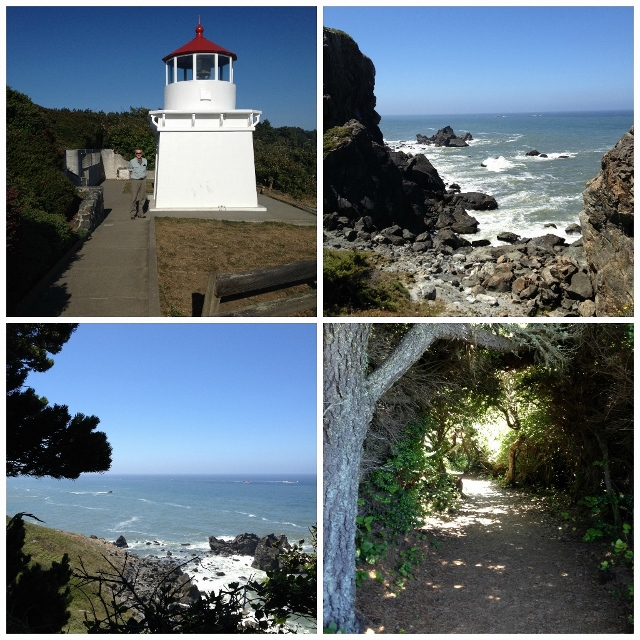 Trinidad CA  Memorial Light House