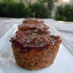 BBQ Lentil Loaf Muffins