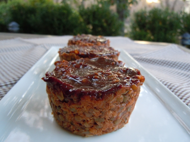 BBQ Lentil Loaf Muffins – Plant Based/Vegan » Nutmeg Notebook