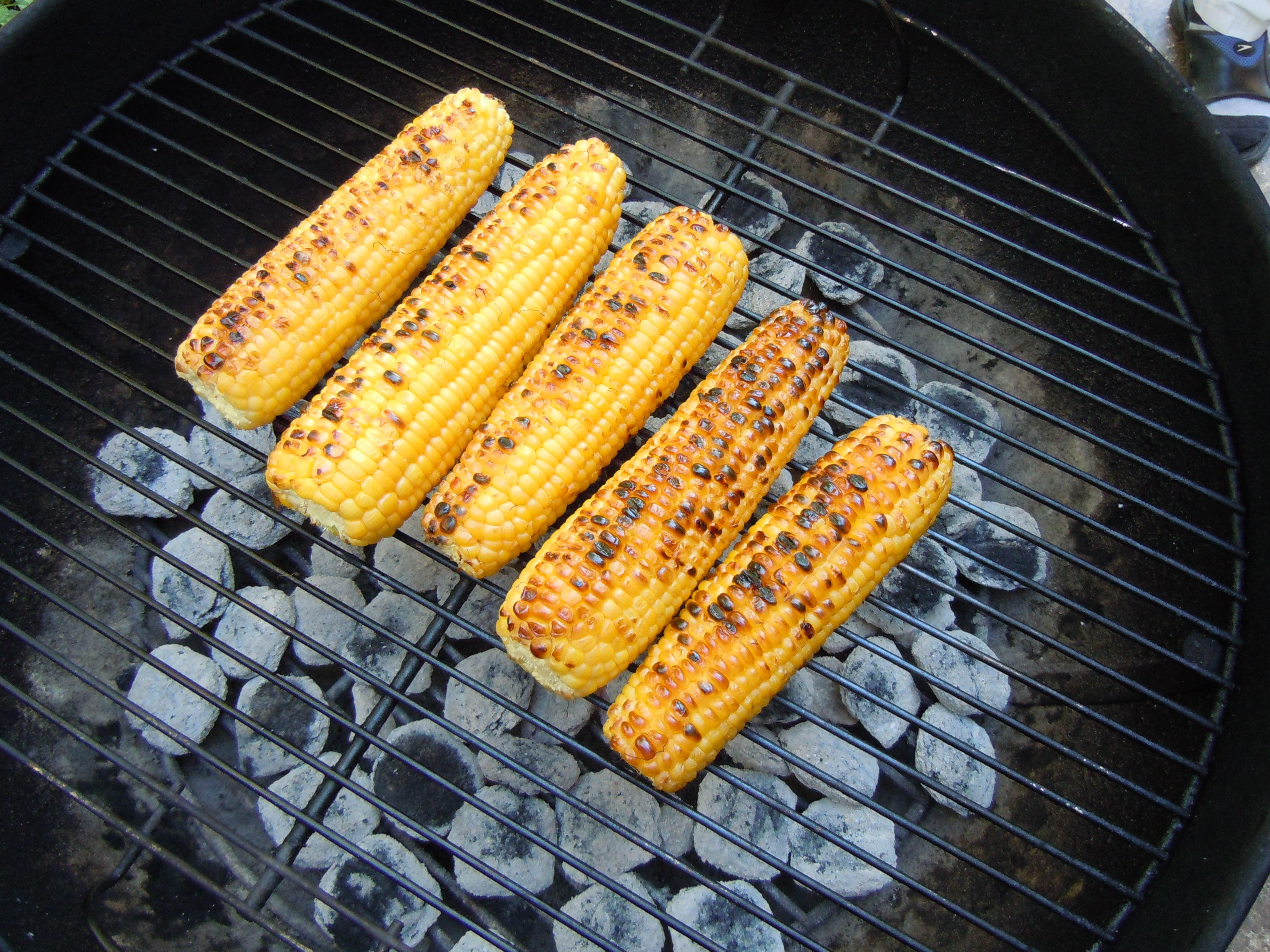 how to cook sweetcorn on bbq