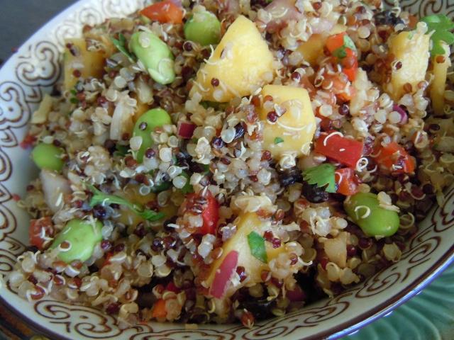 California Quinoa Mango Salad