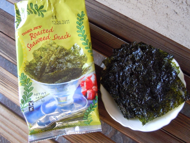 TJ's Seeweed Snacks
