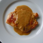 Chickenwith Mustard Cream Sauce and Tarragon 014