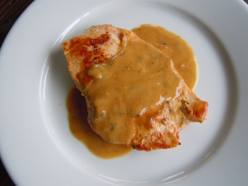 Chicken Cutlets with Mustard Tarrgon Cream Sauce » Nutmeg Notebook