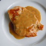 Chickenwith Mustard Cream Sauce and Tarragon 018