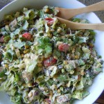 Chipotle Salad, Pizza 001