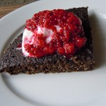 Chocolate Power Cake 1 Minute Muffin Chia Jam 025