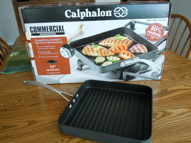 Costco Calphalon Grill Pan