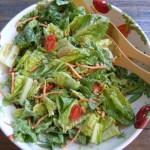 Caesar Salad with Cilantro Dressing