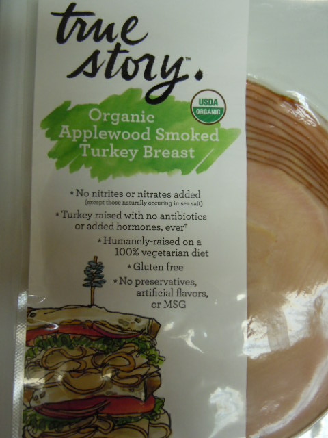 365 Whole Foods Organic Applewood Smoked Turkey Breast