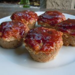 Turkey Meatloaf Muffins with BBQ Sauce