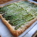 Asparagus Gruyere Tart