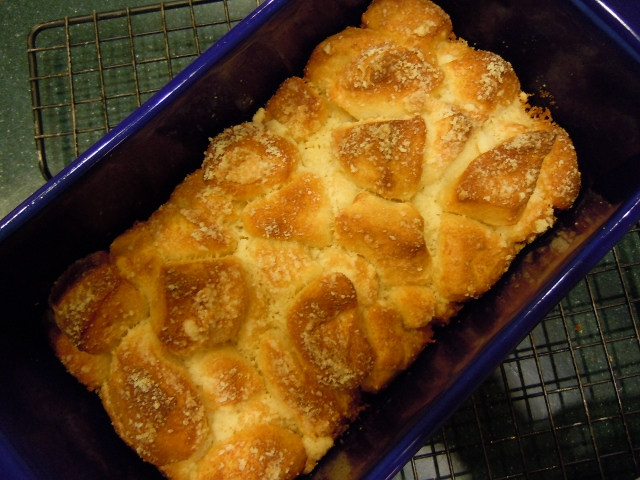 Parmesan Pull-Apart Bread Weight Watchers