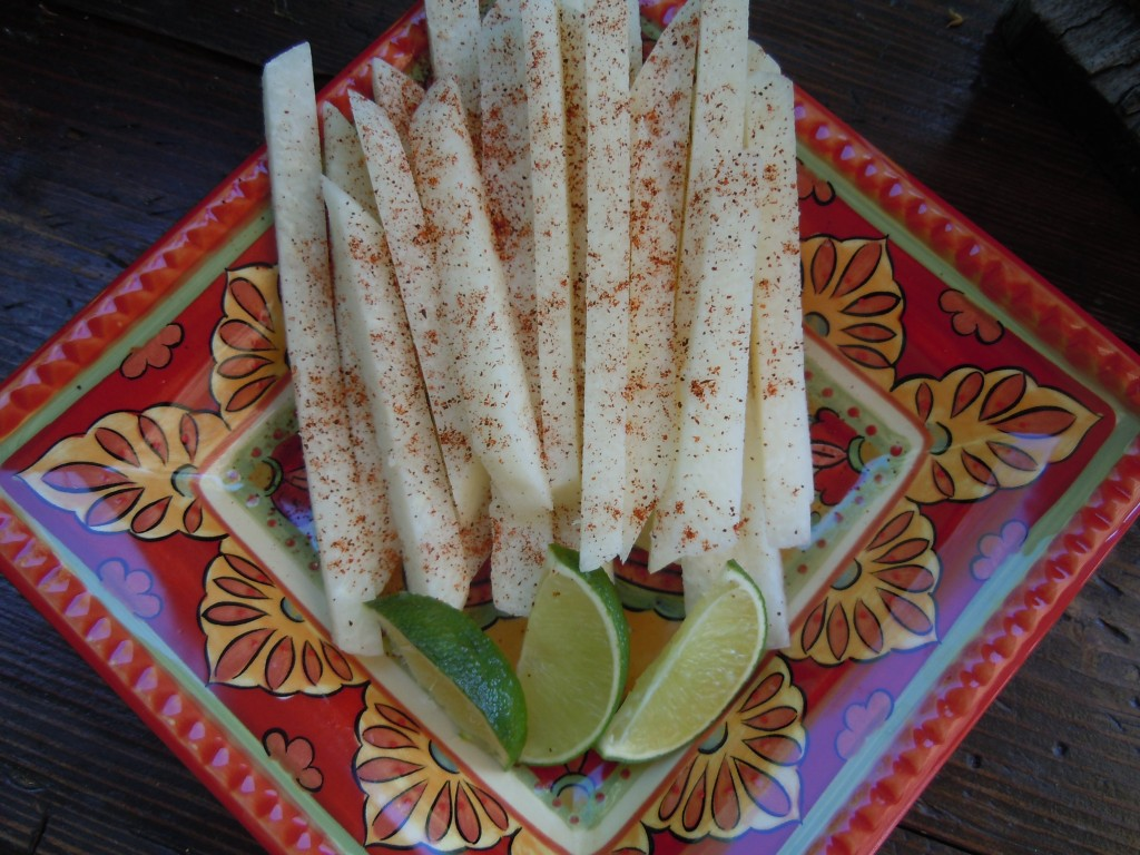 Chili Lime Jicama – A Zero Point Snack On Weight Watchers! » Nutmeg ...