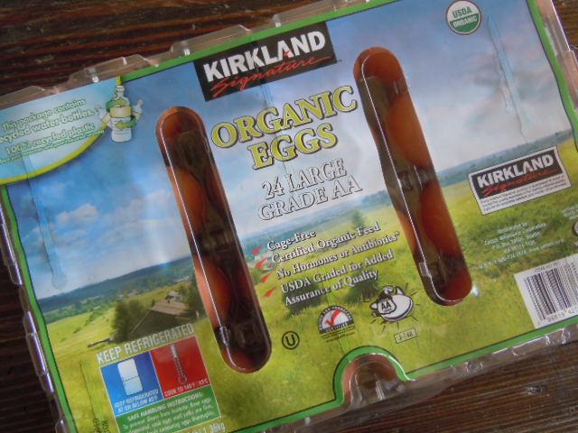 Kirkland Organic Eggs