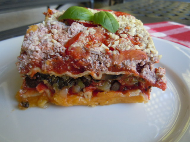 Engine 2 Raise The Barn Butternut Squash Vegetable Lasagna