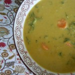 Golden Austrian Cauliflower Cream Soup