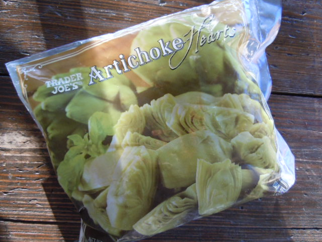 TJ'S Frozen Artichoke Hearts