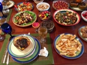Chef AJ's Holiday Feast Nutmeg Notebook
