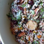 Triple Rice Salad with Apple Sage Sausage