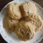 Ginny bakes cookies