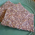 Flax &amp; Sesame Seed Crackers