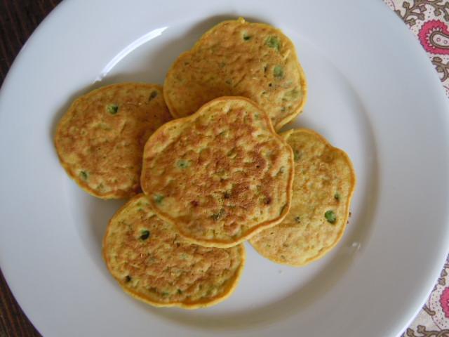 Savory Chickpea Flour Pancakes