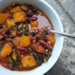 Butternut Squash & Kidney Bean Chili