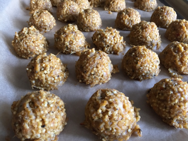 Millet Balls Nutmeg Notebook