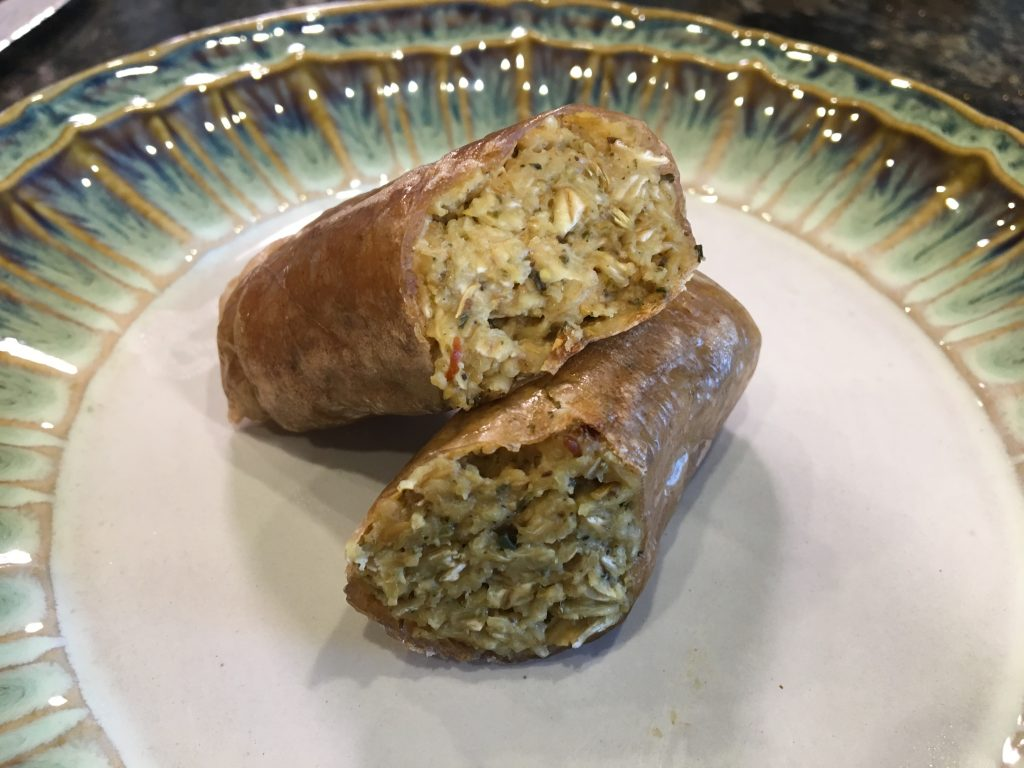 How To Make Darn Good Vegan Sausages – Gluten Free & Oil
