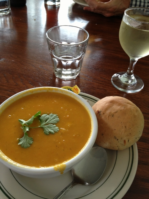 Carrot Ginger Soup Wildflower Cafe