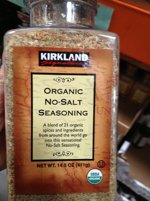 Kirkland No Salt Seasoning