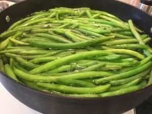 Green Beans Nutmeg Notebook