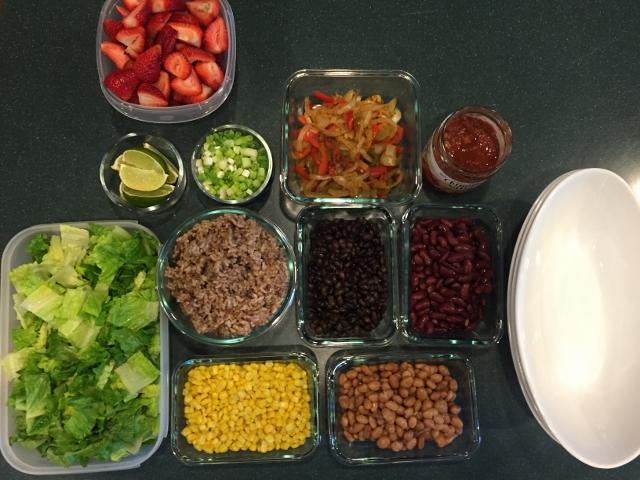 Chipotle Burrito Bowl Nutmeg Notebook