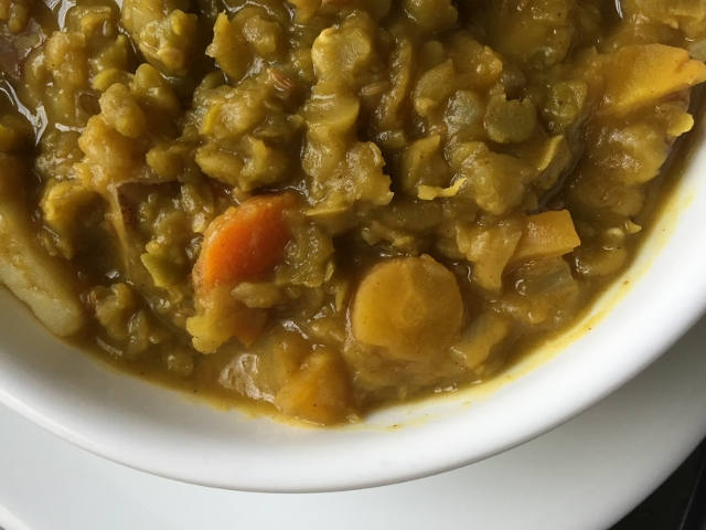 Curry Split Pea Soup Nutmeg Notebook