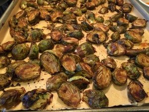 Chef AJ's Brussels Sprouts Nutmeg Notebook