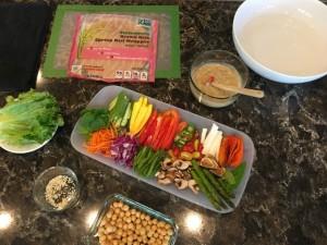 Spring Roll Ingredients Nutmeg Notebook