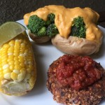 Broccoli  Cheeze Stuffed Baked Potato Nutmeg Notebook