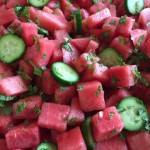 Chef Aj's Watermelon Salad Nutmeg Notebook