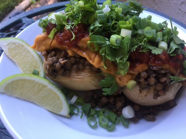 Chili Lentil Stuffed Potato Nutmeg Notebook