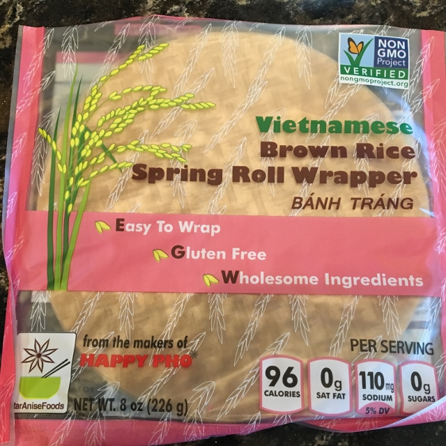 Brown Rice Spring Roll Wrappers Nutmeg Notebook