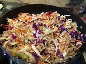 Crispy Spring Rolls  Filling - Vegan - Gluten Free - Oil Free - Air Fryer Nutmeg Notebook