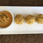 Air Fried Garlic Mashed Potato Balls Nutmeg Notebook