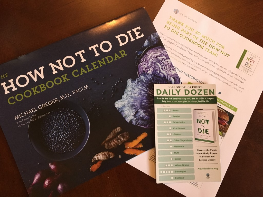 How Not To Die Cookbook Nutmeg Notebook