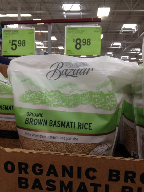 Organic Brown Basmati Rice Nutmeg Notebook