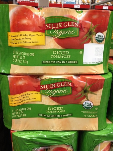Muir Glen Organic Tomatoes Nutmeg Notebook
