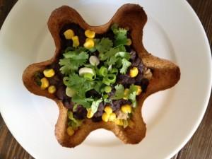 Crispy Tortilla Bowls Nutmeg Notebook