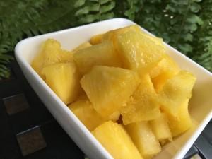 Freshly Cut Pineapple Nutmeg Notebook
