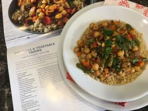 Chickpea & Vegetable Tagine Nutmeg Notebook